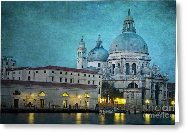 Della Greeting Cards - St Maria della Salute from St Marks  Greeting Card by Marion Galt