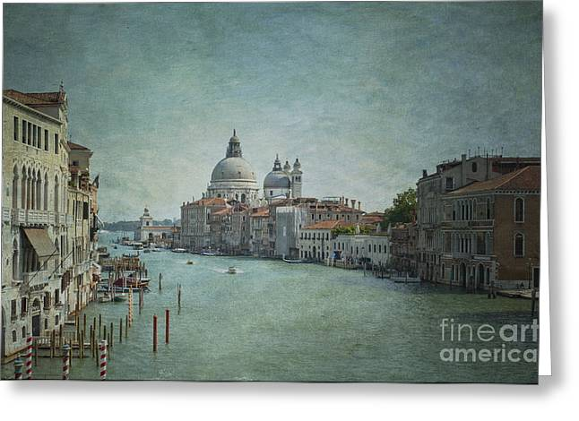 Della Greeting Cards - St Maria della Salute Greeting Card by Marion Galt