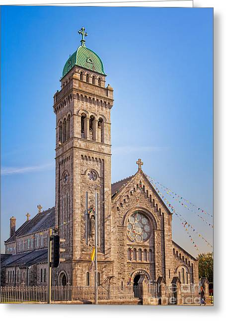 Bells Of Ireland Greeting Cards - St. Mary Cathedral in Limerick Greeting Card by Gabriela Insuratelu