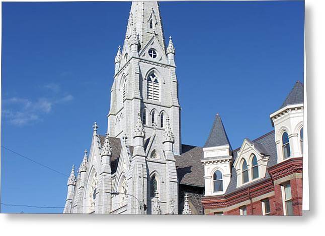 St. Mary's Basilica Greeting Card by Kristin Elmquist
