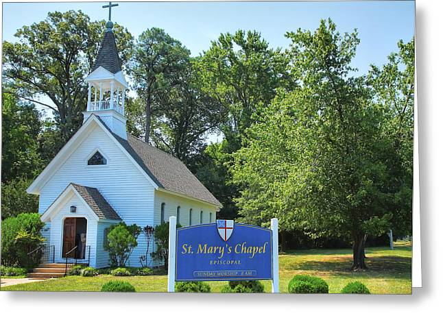 Historical Acrylic Prints Greeting Cards - St. Marys Chapel  Greeting Card by Steven Ainsworth