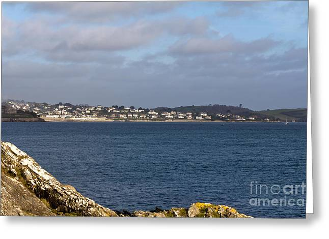 Cornwall Greeting Cards - St Mawes Village Greeting Card by Brian Roscorla
