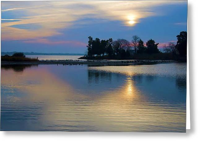 St. Michael's Sunrise Greeting Card by Bill Cannon