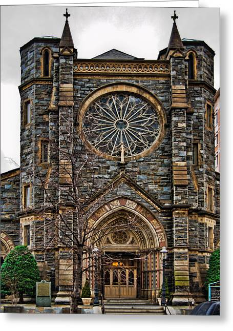 Christopher Holmes Greeting Cards - St. Patricks Church Greeting Card by Christopher Holmes