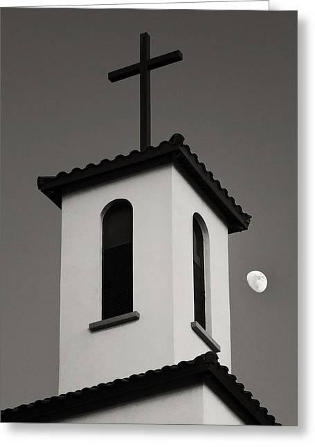 Southwest Church Greeting Cards - St Thomas Aquinas #1 Greeting Card by John Nelson