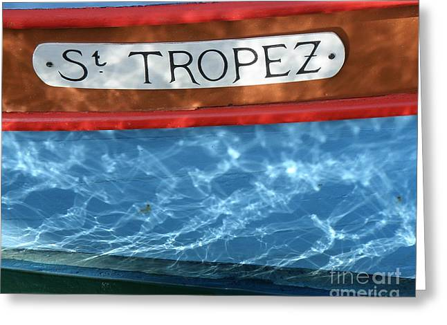 St.tropez Greeting Cards - St. Tropez Greeting Card by Lainie Wrightson