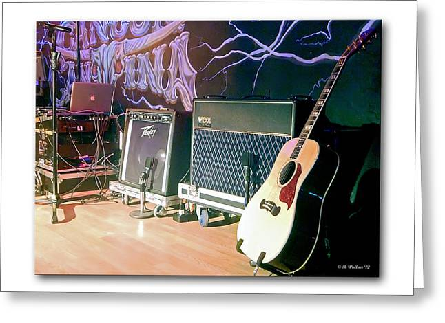 Acoustical Photographs Greeting Cards - Stage Set Greeting Card by Brian Wallace