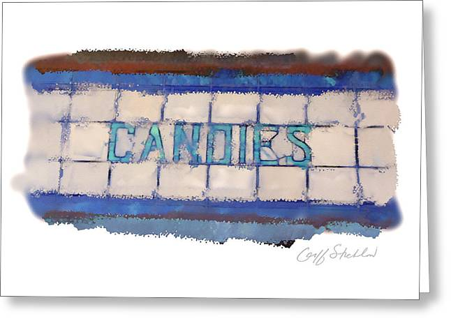 Lead Greeting Cards - Stained Glass Candies Greeting Card by Geoff Strehlow