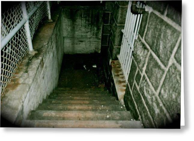 Stairway To...  Greeting Card by Brynn Ditsche