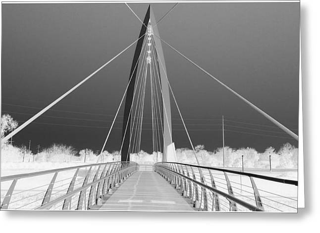 Web Gallery Greeting Cards - Stairway to heaven grey scale Greeting Card by David Alvarez