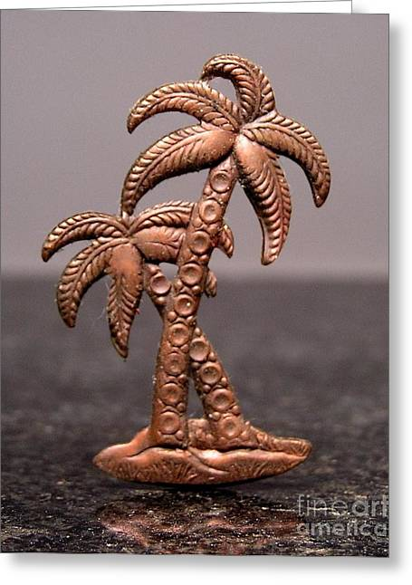 Tree Jewelry Greeting Cards - Stampings 11 Greeting Card by Dwight Goss