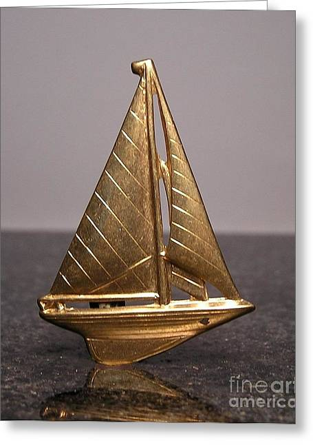Boat Jewelry Greeting Cards - Stampings 21 Greeting Card by Dwight Goss