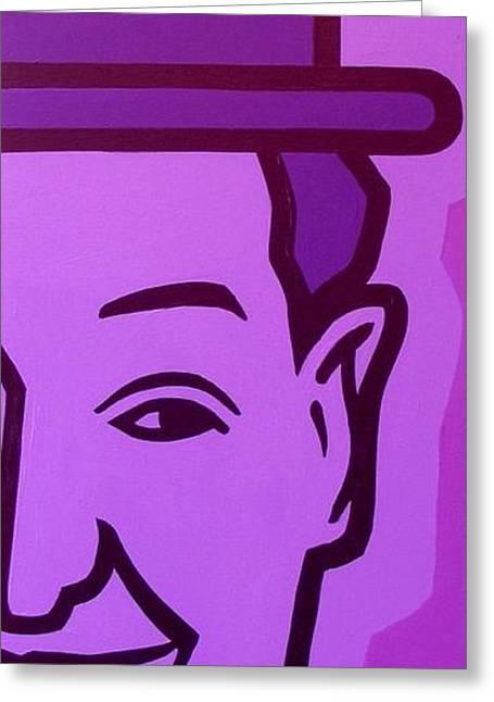 Oliver Greeting Cards - Stan Laurel Greeting Card by John  Nolan