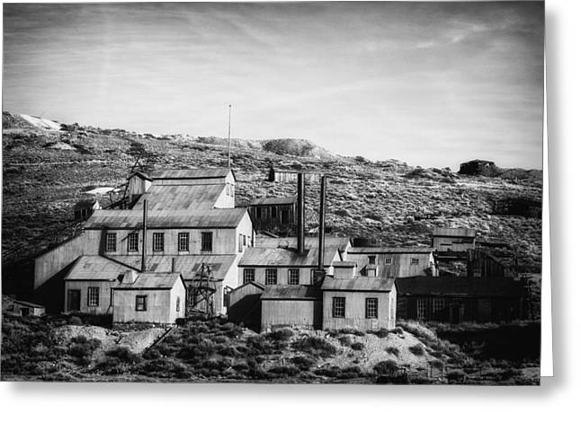 Abandoned Mill Greeting Cards - Standard Mill Bodie CA Greeting Card by Troy Montemayor