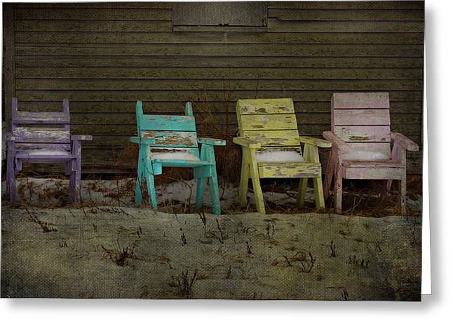 Standing For All Colours  Greeting Card by Jerry Cordeiro