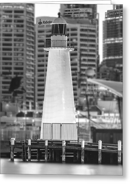 Darling Harbour Greeting Cards - Standing Out Greeting Card by Mark Lucey