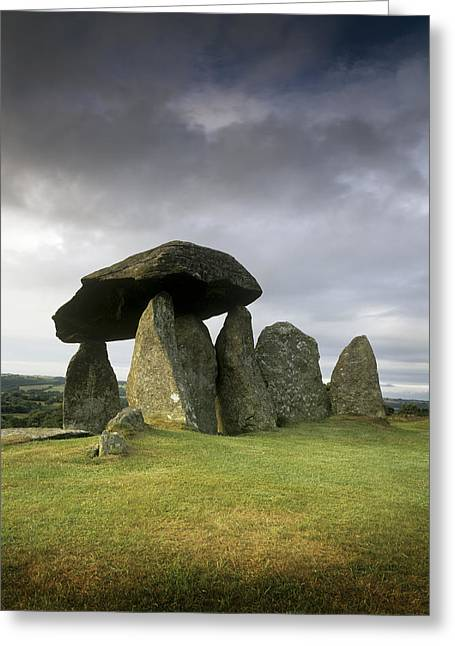 Standing Stones Greeting Card by Chris Madeley