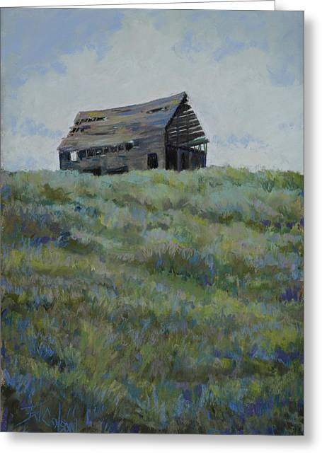 Barn Pastels Greeting Cards - Standing Tall Greeting Card by Billie Colson