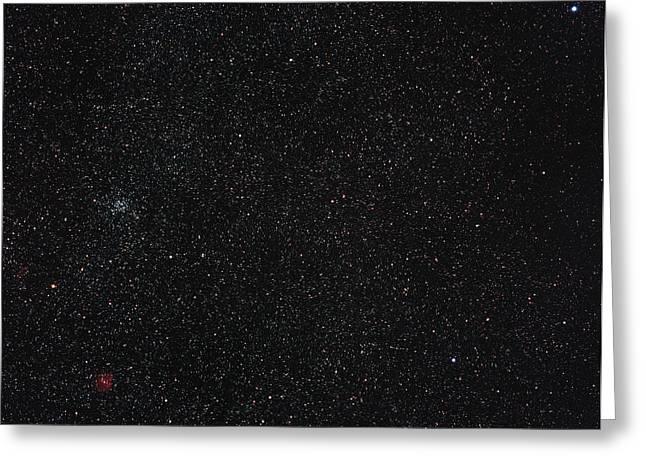 Star Cluster M35 Greeting Card by Eckhard Slawik
