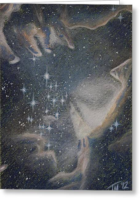 Outer Space Pastels Greeting Cards - Star Cluster NGC 602 Greeting Card by Thomas Maynard