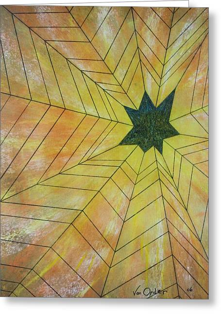 Art Of Building Pastels Greeting Cards - Star Gazer One Greeting Card by Richard Van Order