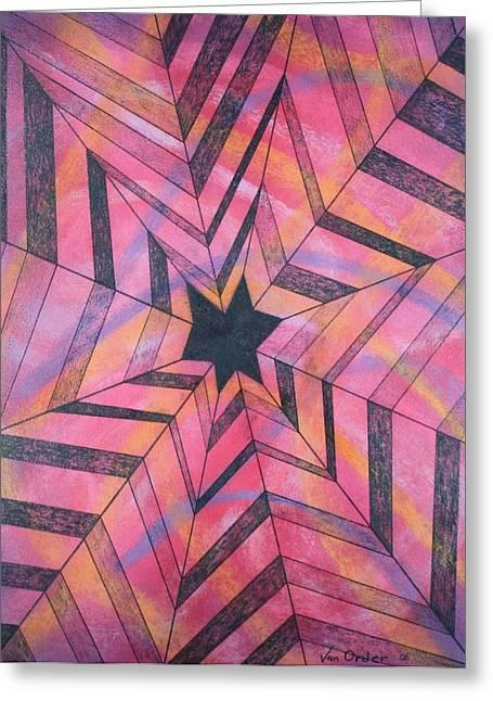 Web Pastels Greeting Cards - Star Gazer Two Greeting Card by Richard Van Order