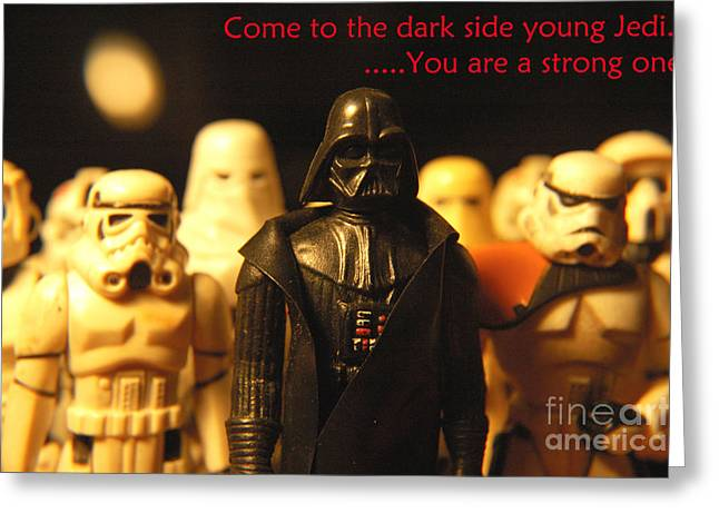 Party Invite Photographs Greeting Cards - Star Wars Gang 4 Greeting Card by Micah May