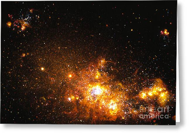 Emission Greeting Cards - Starbirth Regions Greeting Card by Space Telescope Science Institute / NASA