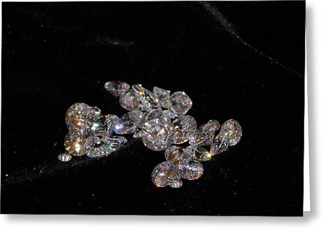 Sparkly Greeting Cards - Stardust Greeting Card by Kristin Elmquist