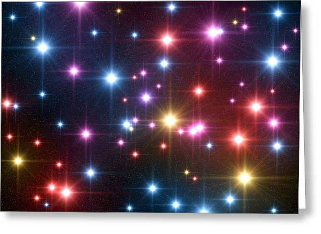 Starfield Greeting Cards - Starfield Greeting Card by Roger Harris