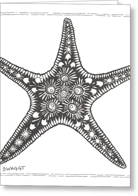 Starfish Greeting Cards - Starfish Greeting Card by Stephanie Troxell