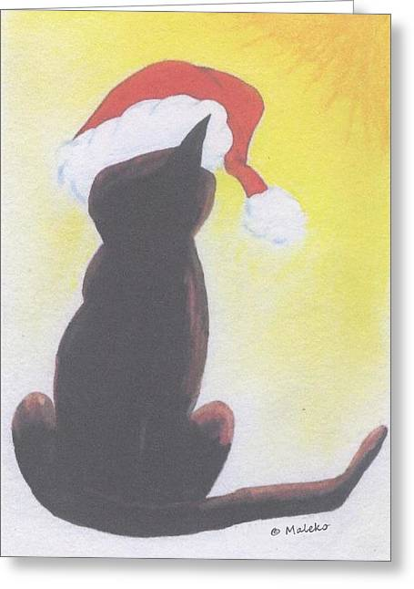 Mark Schutter Greeting Cards - Staring Into the Light Greeting Card by Mark Schutter