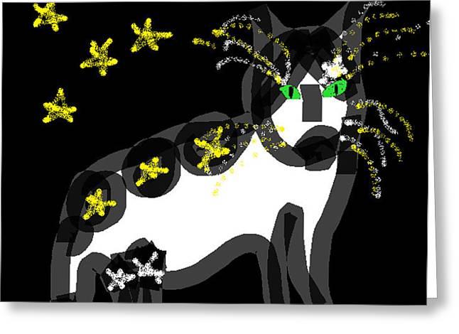 Anita Dale Livaditis Greeting Cards - Starlight Greeting Card by Anita Dale Livaditis