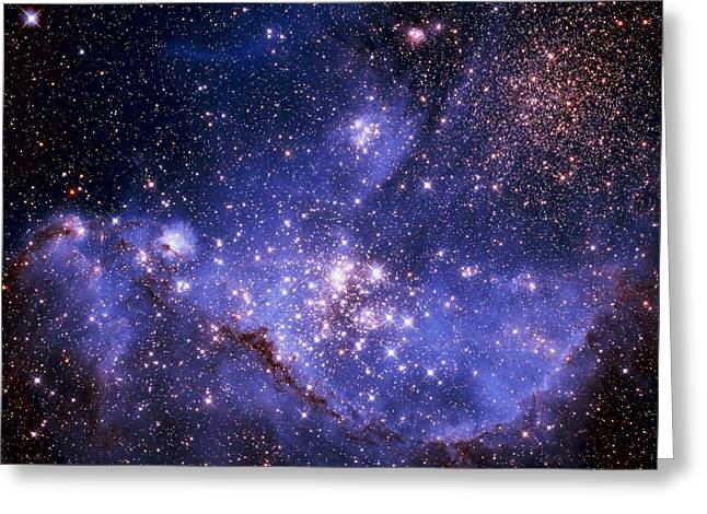 Stars And The Milky Way Greeting Card by Don Hammond
