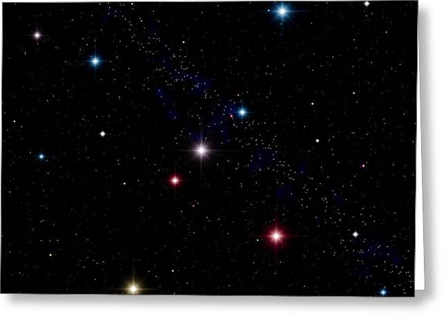 Magnitude Greeting Cards - Stars Greeting Card by Roger Harris