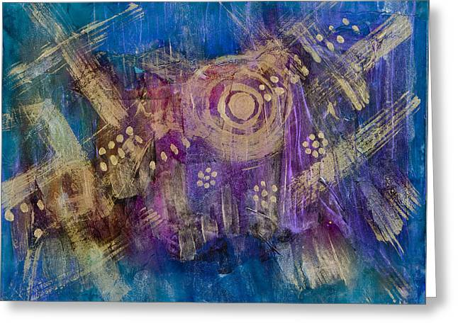 Unexpected Quality Greeting Cards - Starship Vortex Greeting Card by Don  Wright
