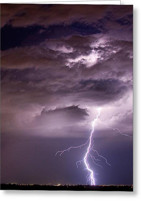 The Lightning Man Greeting Cards - Starting High Greeting Card by James BO  Insogna