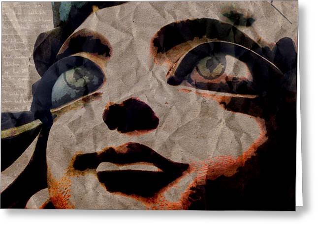 Forgiveness Digital Art Greeting Cards - Statues Dont Cry Greeting Card by Shawn Ross