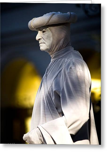 Christopher Holmes Greeting Cards - Statuesque Greeting Card by Christopher Holmes