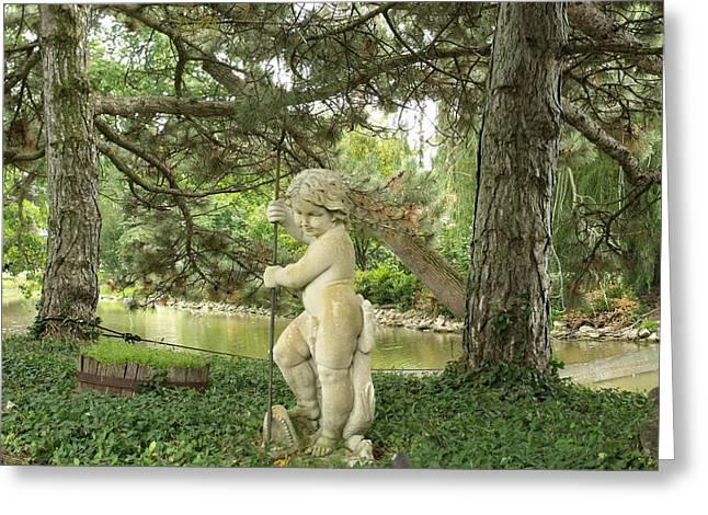 Anna Villarreal Garbis Greeting Cards - Statuesque I Greeting Card by Anna Villarreal Garbis
