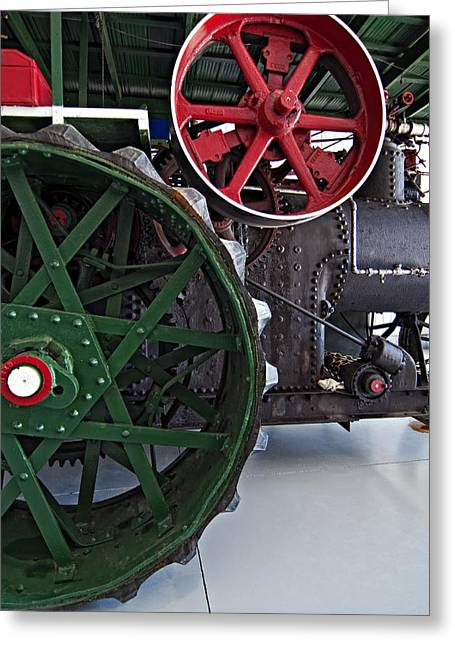 Grey Roots Museum Greeting Cards - Steam Power Greeting Card by Steve Harrington