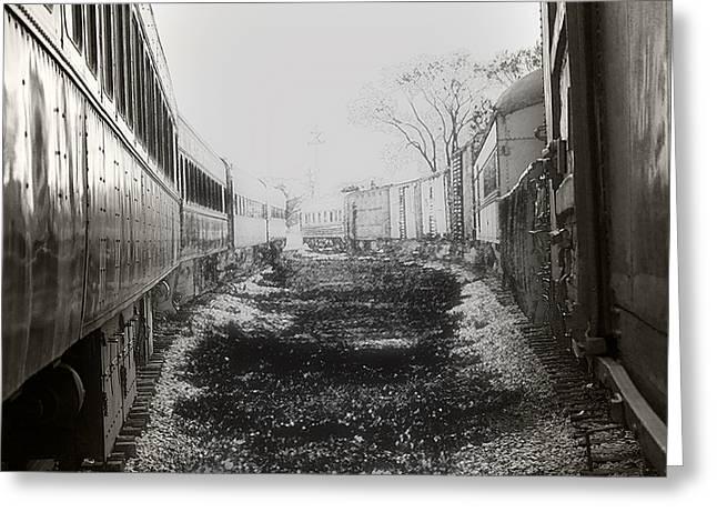Rail Greeting Cards - Steam Railroading 2 Greeting Card by Scott Hovind