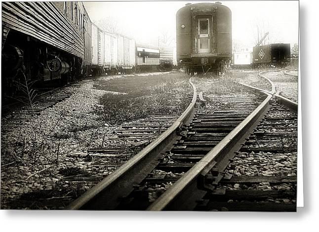 Rail Greeting Cards - Steam Railroading 3 Greeting Card by Scott Hovind