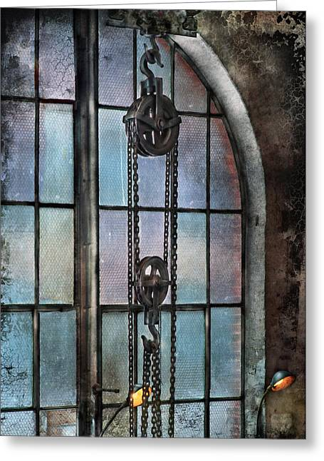 Customizable Greeting Cards - Steampunk - Gear - Importance of Industry  Greeting Card by Mike Savad