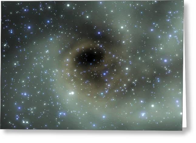 Stellar Formation Greeting Card by Take 27 Ltd