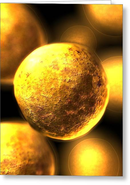 Lineage Greeting Cards - Stem Cells Greeting Card by David Mack