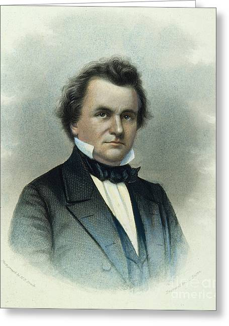 Douglass Greeting Cards - Stephen A. Douglas Greeting Card by Granger