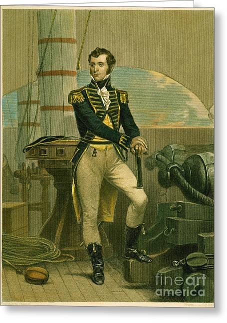 19th Century America Greeting Cards - Stephen Decatur Greeting Card by Granger
