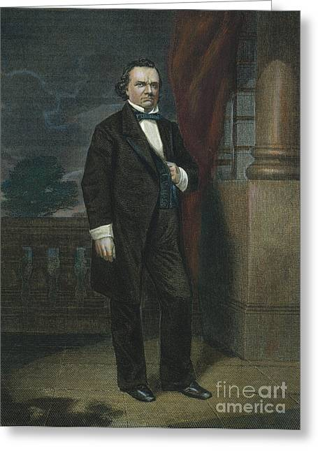 Douglass Greeting Cards - Stephen Douglas (1813-1861) Greeting Card by Granger