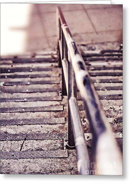 Steps Greeting Cards - Steps Greeting Card by HD Connelly